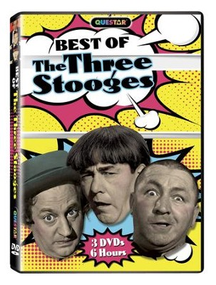 The Best of the Three Stooges, DVD   -