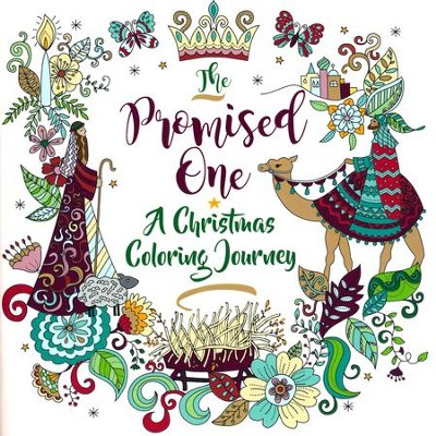 The Promised One: A Christmas Coloring Journey  -