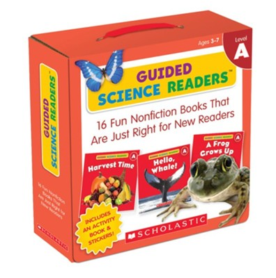 Guided Science Readers Parent Pack: Level A: 16 Fun Nonfiction Books That Are Just Right for New Readers  -     By: Liza Charlesworth