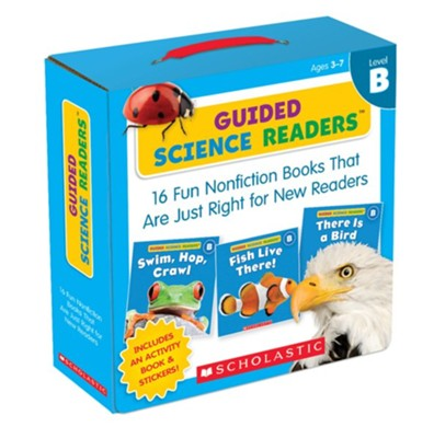 Guided Science Readers Parent Pack: Level B: 16 Fun Nonfiction Books That Are Just Right for New Readers  -     By: Liza Charlesworth