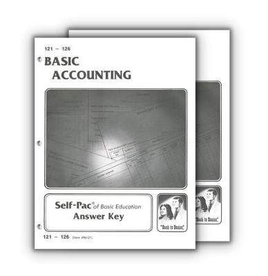High School Business Elective: Accounting SCORE Keys 121-132  -