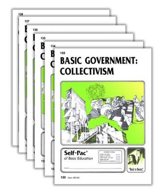 High School Government Elective: Collectivism PACEs 133-138  -