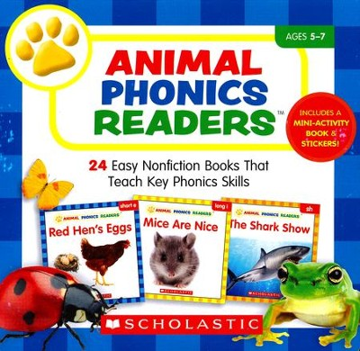 Animal Phonics Readers Parent Pack: 24 Easy Nonfiction Books That Teach Key Phonics Skills  -     By: Liza Charlesworth