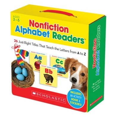 Nonfiction Alphabet Readers Parent Pack: 26 Just-Right Titles That Teach The Letters from A to Z  -     By: Liza Charlesworth