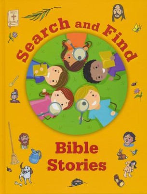 Search & Find Bible Stories  -     By: Michelle Dorenkamp-Repa     Illustrated By: Michelle Dorenkamp-Repa