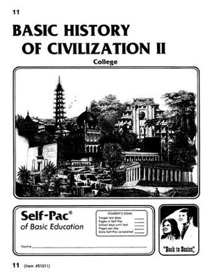 Advanced High School or College Elective: History of Civilization 2 PACEs 11-20  -