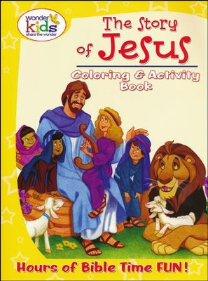 The Story of Jesus Coloring and Activity Book  -