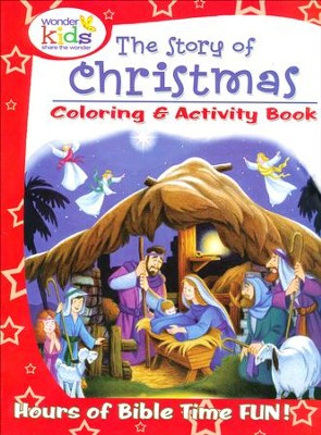 The Story of Christmas Coloring and Activity Book   -