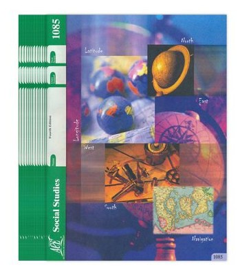 Grade 8 Social Studies PACEs 1085-1096 (4th Edition)    -
