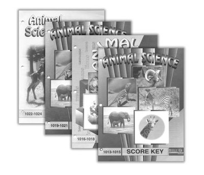 Grade 2 Animal Science SCORE Keys 1013-1024   -