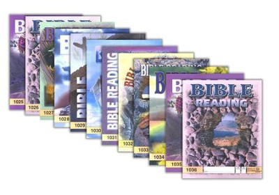 Grade 3 Bible Reading PACEs 1025-1036   -