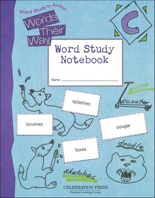 Words Their Way Level C Student Notebook, Grade 3   -