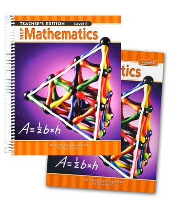 MCP Mathematics Level E, Grade 5, 2005 Ed., Homeschool Kit   -