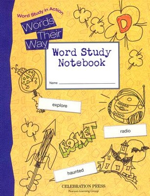 Words Their Way: Word Study in Action Grade 4 Student Workbook  -