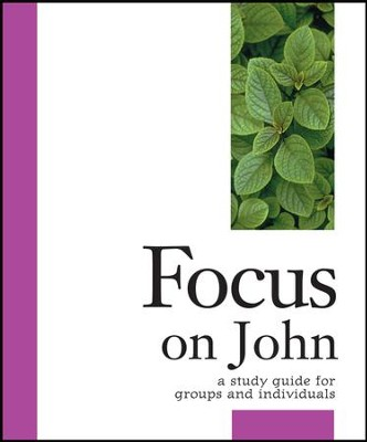Focus on John: A Study Guide for Groups and Individuals - eBook  -     By: Dr. Stanley Purdham