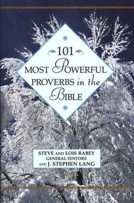 101 Most Powerful Proverbs in the Bible   -     By: Steve Rabey, Lois Mowday Rabey