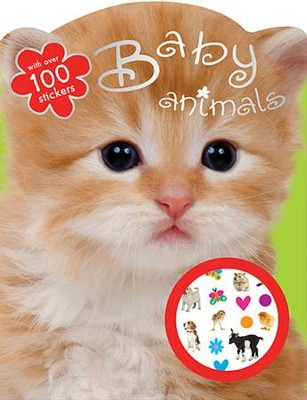 Baby Animals Coloring Book  -     By: Lara Ede