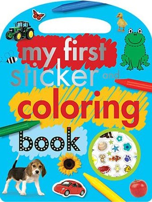 My First Sticker and Coloring Book  -