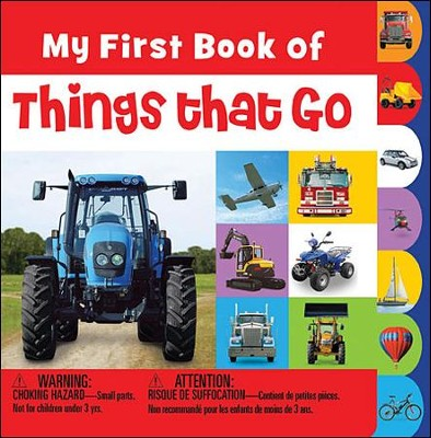 My First Book Of Things That Go Minis  -     By: Joanna Bicknell
