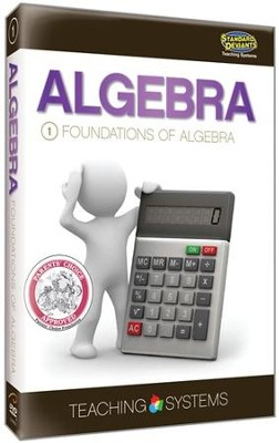 Module 1: Foundations of Algebra (2 DVDs)  -