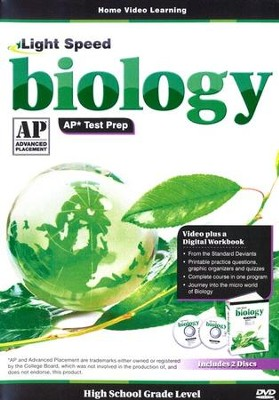 Light Speed Biology AP* Test Prep 2-DVD Set   -