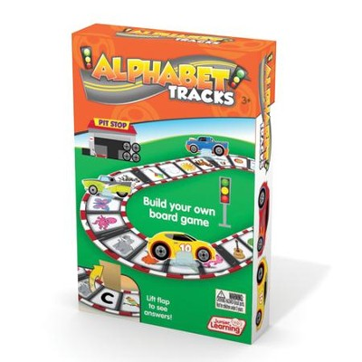 Alphabet Tracks: Build Your Own Board Game   -     By: Duncan Milne