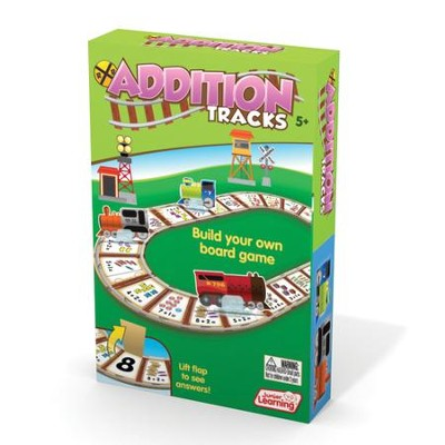 Addition Tracks Game   -     By: Duncan Milne