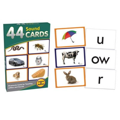 44 Sounds Cards   -     By: Duncan Milne
