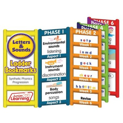 Letters and Sounds Progress Ladder Bookmarks   -     By: Duncan Milne