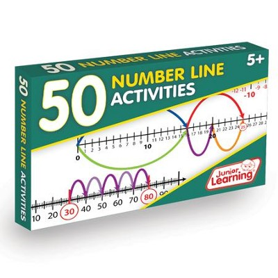50 Number Line Activities (set of 50 cards)   -     By: Duncan Milne