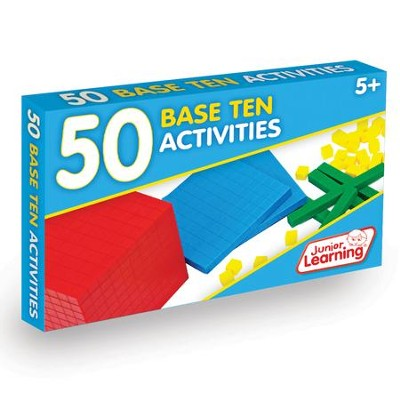50 Base Ten Activities (set of 50 cards)   -     By: Duncan Milne