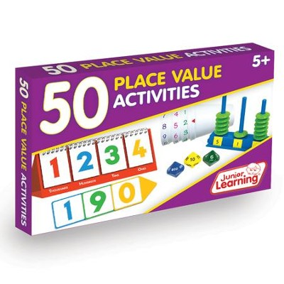 50 Place Value Activities (set of 50 cards)   -     By: Duncan Milne