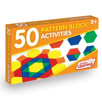 50 Pattern Block Activities (set of 50 cards)   -     By: Duncan Milne
