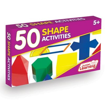 50 Shape Activities (set of 50 cards)   -     By: Duncan Milne