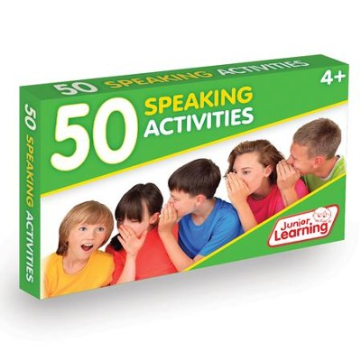 50 Speaking Activity Cards   -     By: Duncan Milne