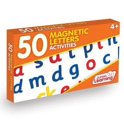 50 Magnetic Letters Activity Cards   -     By: Duncan Milne