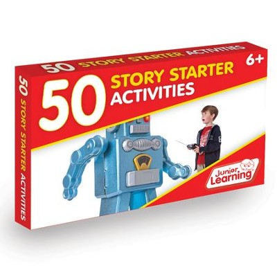 50 Story Starter Activity Cards   -     By: Duncan Milne