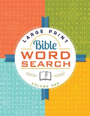 Large Print Bible Word Search: Volume 1   -