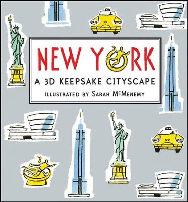 New York: A 3D Keepsake Cityscape  -     By: Sarah McMenemy
