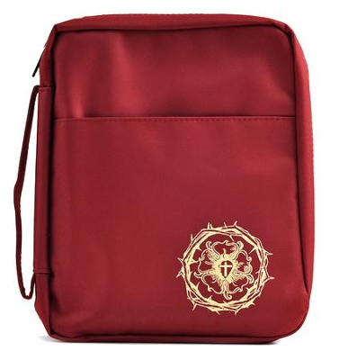 The Lutheran Study Bible Cover, Burgundy   -
