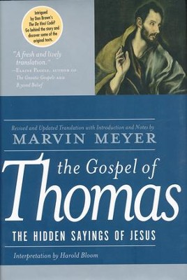 The Gospel of Thomas                                   -     By: Harold Bloom