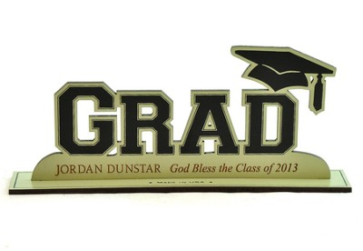 Personalized, Word Silhouette, Grad   -