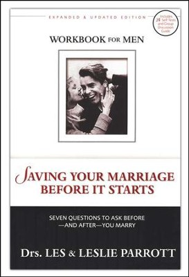 Saving Your Marriage Before it Starts, Revised, Men's Workbook: Seven Questions to Ask Before and After You Marry - Slightly Imperfect  -