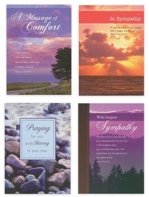 Praying For You Sympathy Cards, Box of 12  -