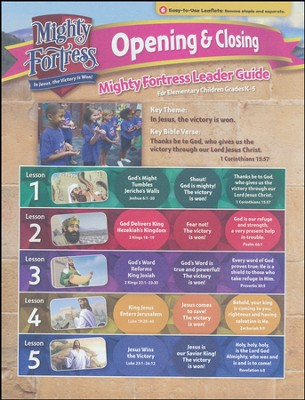 Mighty Fortress VBS: Mighty Fortress Opening/Closing Guide (DVD)   -