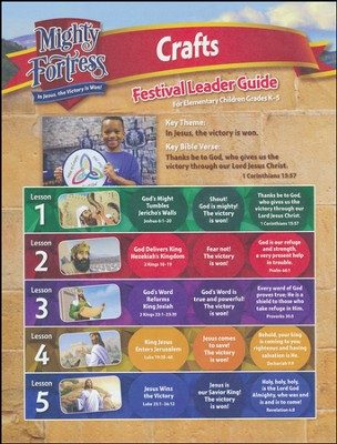 Mighty Fortress VBS: Festival Craft Guide   -