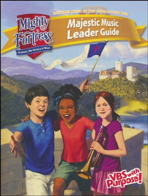 Mighty Fortress VBS: Majestic Music Guide (CD & DVD)   -