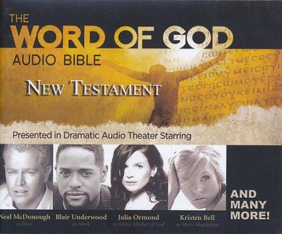 Word of God Audio Bible: The New Testament presented in  Dramatic Audio Theater on CD - Revised Standard Version     -