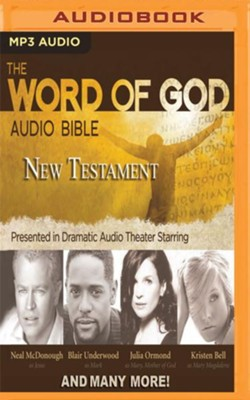 The word of god audio bible new testament on mp3 cd unabridged the word of god audio bible new testament on mp3 cd unabridged fandeluxe Images