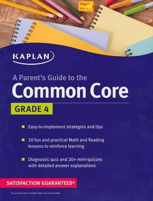 Parent's Guide to the Common Core: 4th Grade  -     By: Kaplan